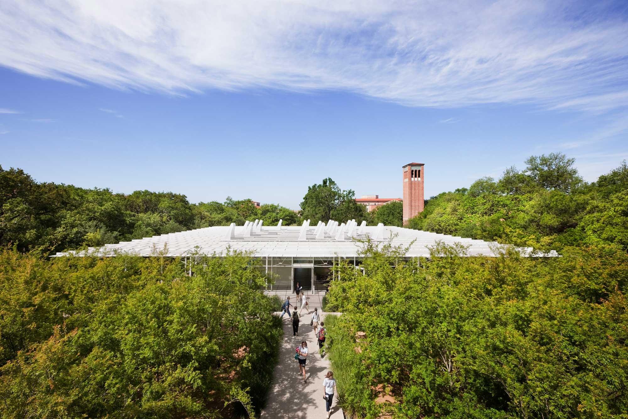 Rice University Brochstein Pavilion Thomas Phifer and Partners
