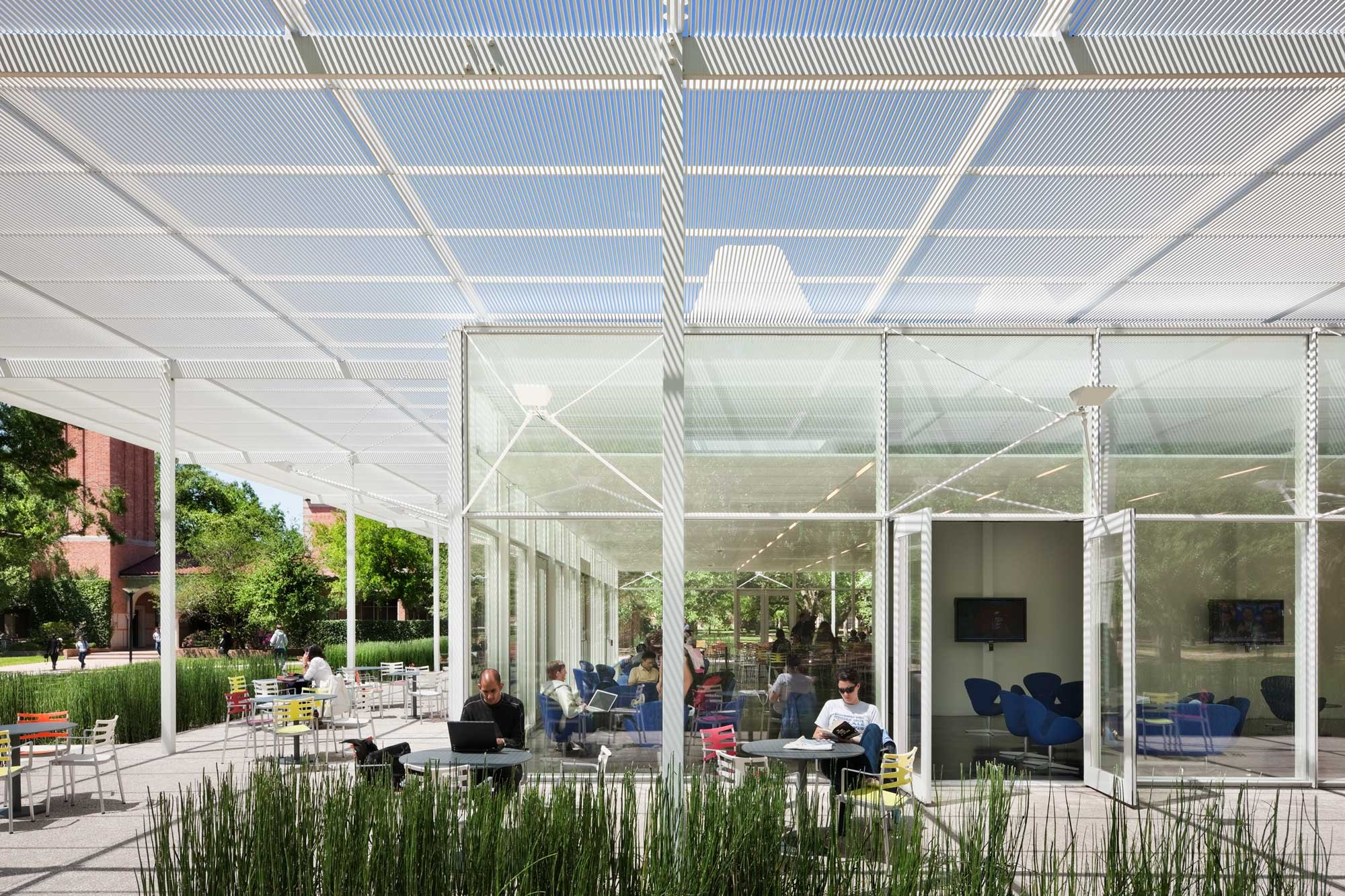 Rice University Brochstein Pavilion Thomas Phifer And